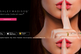 Ashley Madison sites de traição página inicial